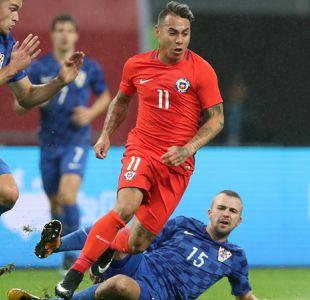 [VIDEO] El fútbol chino pone sus ojos en Eduardo Vargas de cara a la final ante Islandia