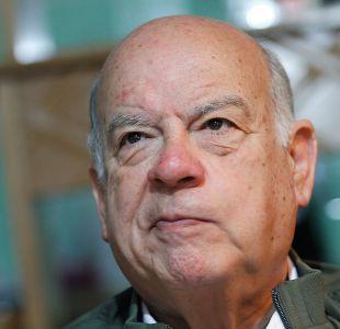 Insulza expresa su preocupación por eventual salida del PS por un cupo senatorial en Atacama