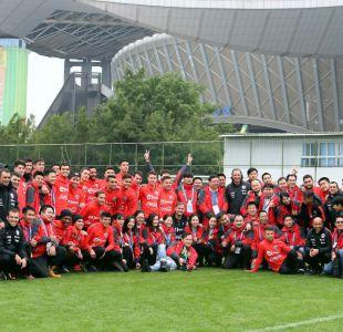 [FOTOS] Así fue la última práctica de La Roja antes de la final de la China Cup