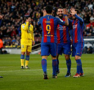 Barcelona golea y supera al Sevilla de Sampaoli en la tabla de la liga española