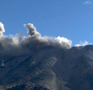 Volcán Nevados de Chillán registra pulso eruptivo pero conserva Alerta Amarilla