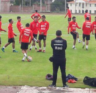 [FOTOS] La Roja se entrena en Ecuador preparando su debut en el Sudamericano Sub 20
