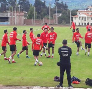 Sub 20: Técnico Héctor Robles ya prepara el equipo para debut con Brasil y afina lista final