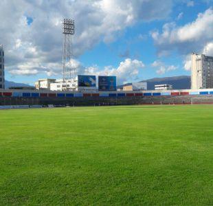 [FOTOS] El Estadio Olímpico de Riobamba donde Chile debuta este viernes en el Sudamericano Sub 20