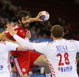 Mundial de Balonmano: Chile cae ante Croacia y ahora animará duelo clave ante Arabia Saudita