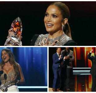 Jennifer Lopez, Sofía Vergara y Tom Hanks estuvieron entre los ganadores de los People´s Choice Awards
