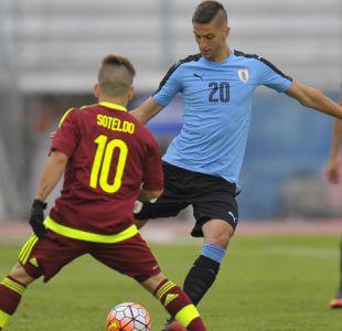 Uruguay y Venezuela empatan en arranque del Grupo B del Sudamericano Sub 20