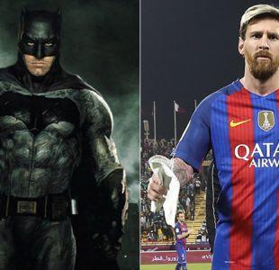 Jorge Sampaoli muestra su fanatismo por Lionel Messi comparándolo con Batman