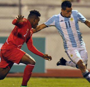 Argentina empata en la agonía ante Perú en su debut por el Sudamericano Sub 20