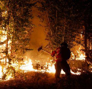 Declaran alerta amarilla para Til Til por incendio forestal