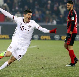 Bayern Munich de Vidal consigue agónico triunfo sobre Friburgo por la Bundesliga