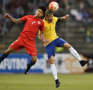 Chile debuta con empate ante Brasil en el Sudamericano Sub 20