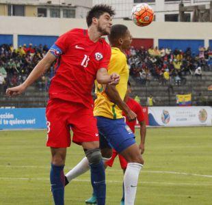 """Las figuras de """"La Roja"""" que dejó el debut ante Brasil en el Sudamericano Sub 20"""