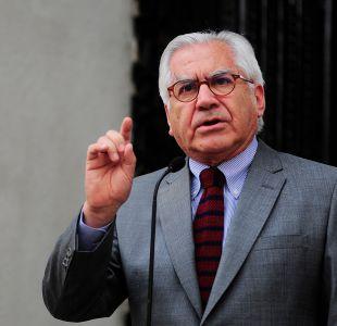 Aprueban interpelación al ministro Mario Fernández