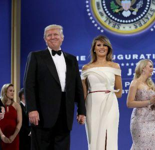 Melania Trump diseñó vestido de baile con modisto francés Hervé Pierre