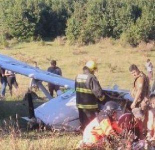 Villarica: Caída de avioneta deja dos personas muertas y dos heridos