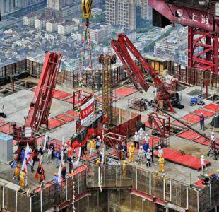Comercio y producción industrial de China se ralentizan
