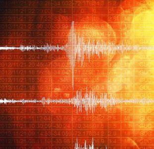 Se registra sismo 4,6 en Región de Coquimbo
