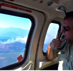 General director de Carabineros e incendios: Los centros urbanos no están siendo afectados