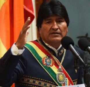 Evo Morales recuerda dichos de Merino contra los bolivianos