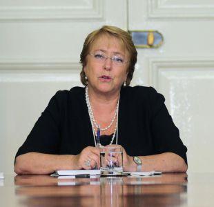 Bachelet visita zonas afectadas por incendios en región de O'Higgins