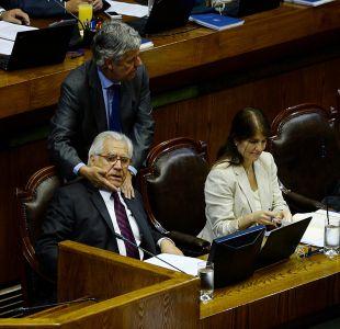 [FOTOS] El lado B de la interpelación al ministro Mario Fernández