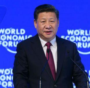 Xi Jinping abogó en Davos por el libre comercio.