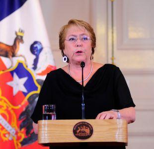 Adimark: Aprobación a Bachelet cae cuatro puntos tras crítica evaluación de gestión de incendios