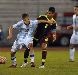 Argentina empata con Venezuela y ambos avanzan al hexagonal final Sub 20