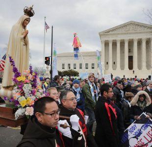 Gran marcha antiaborto en Washington es aplaudida por la Casa Blanca