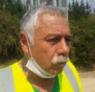 [VIDEO] Carlos Caszely colabora en terreno en zonas afectadas por incendios forestales