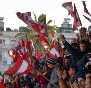 El júbilo por el regreso del fútbol a Alepo, Siria, después de cinco años de guerra y devastación