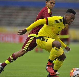 Colombia logra sufrido empate ante Venezuela en el arranque del hexagonal Sub 20