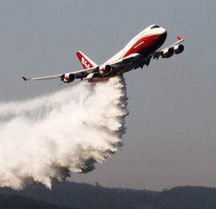 Supertanker en Dichato