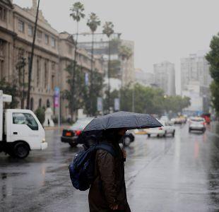 Dirección meteorológica anuncia precipitaciones desde región de Atacama a OHiggins