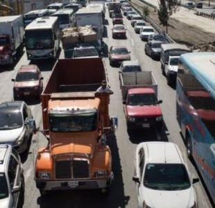 Los habitantes de la capital mexicana han apelado a taxis y a vehículos de amigos para movilizarse el sábado y no al transporte público.