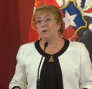 Bachelet asegura que Trump le manifestó preocupación por Venezuela