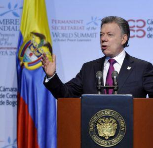 Presidente Santos exige a guerrilla FARC que entregue a menores en Colombia