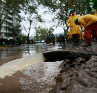 Este lunes se realiza la última audiencia prejudicial por desborde del río Mapocho en Providencia