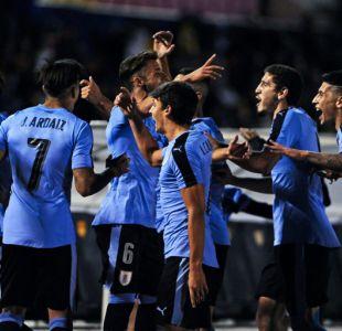 Uruguay golea a Colombia en el Sudamericano Sub 20 y clasifica al Mundial de Corea