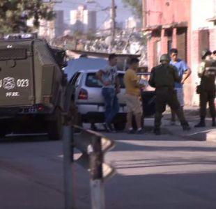 Carabinero en riesgo vital tras recibir disparos durante control de detención en La Legua