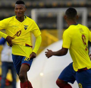 Ecuador queda a un paso del Mundial tras golear a Colombia en el Sudamericano Sub 20