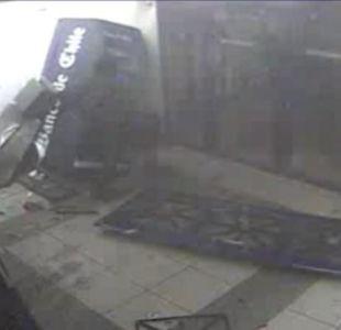 [VIDEO] Nueva explosión de cajero automático a través del método de la saturación de gas