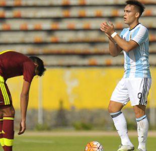 Sub 20: Venezuela clasifica pese a caer con Argentina que ahora depende de Brasil