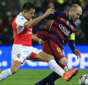 Barcelona, Arsenal y Real Madrid se meten entre los equipos favoritos de los chilenos