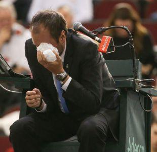 Operan a juez de silla que recibió pelotazo en partido de la Copa Davis