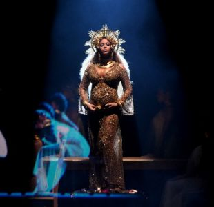 El secreto en el vestido de Beyoncé en los Grammys que había pasado desapercibido... hasta ahora