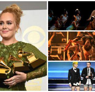 Este domingo se llevaron a cabo los Premios Grammy 2017