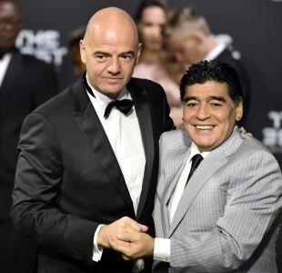 Maradona asegura que crisis de la AFA pondría en duda el encuentro entre Argentina y Chile