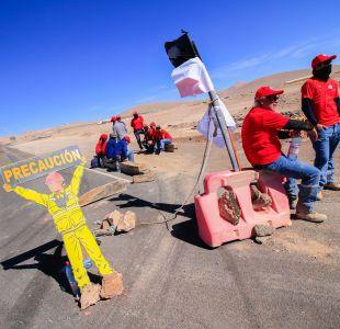 Vencer o morir El lema de los trabajadores de Minera Escondida que permanecen en Huelga